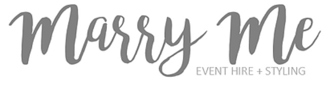Marry Me Events and Styling
